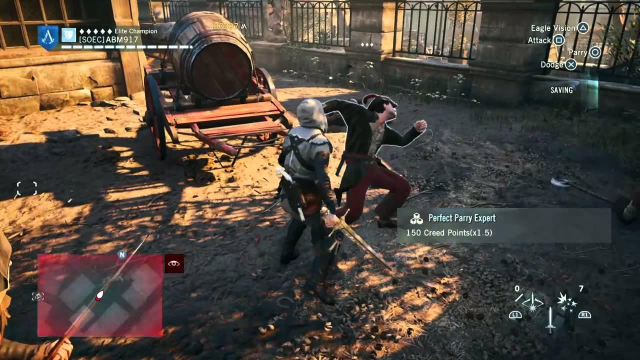 Assassin s creed 174 unity ps4 free roam gameplay youtube