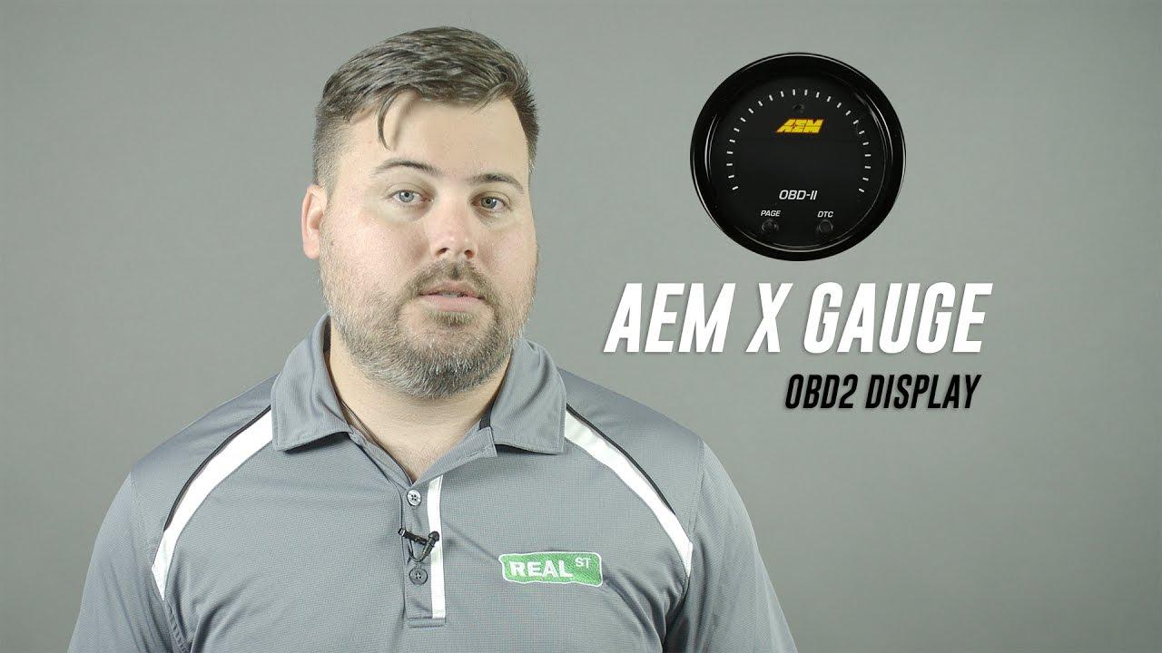 AEM 30-0311 X-Series All in One OBDII OBD2 Digital Datastream Gauge Review  Real Street Performance