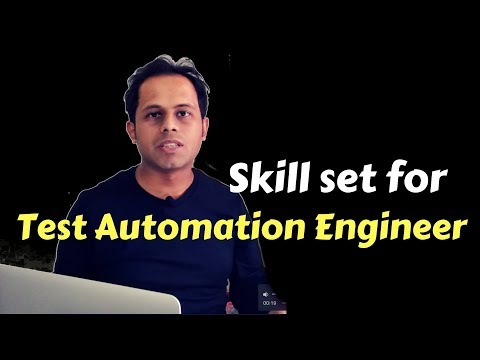 QnA Friday 24 - Skill Set for Test Automation Engineer career ?