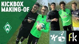 Freekickerz & Kickbox VS Thomas Delaney & Maxi Eggestein | MAKING-OF CHALLENGE | SV Werder