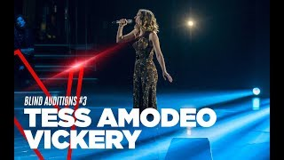 "Tess Amodeo Vickery  ""On My Own"" - Blind Auditions #3 - TVOI 2019"
