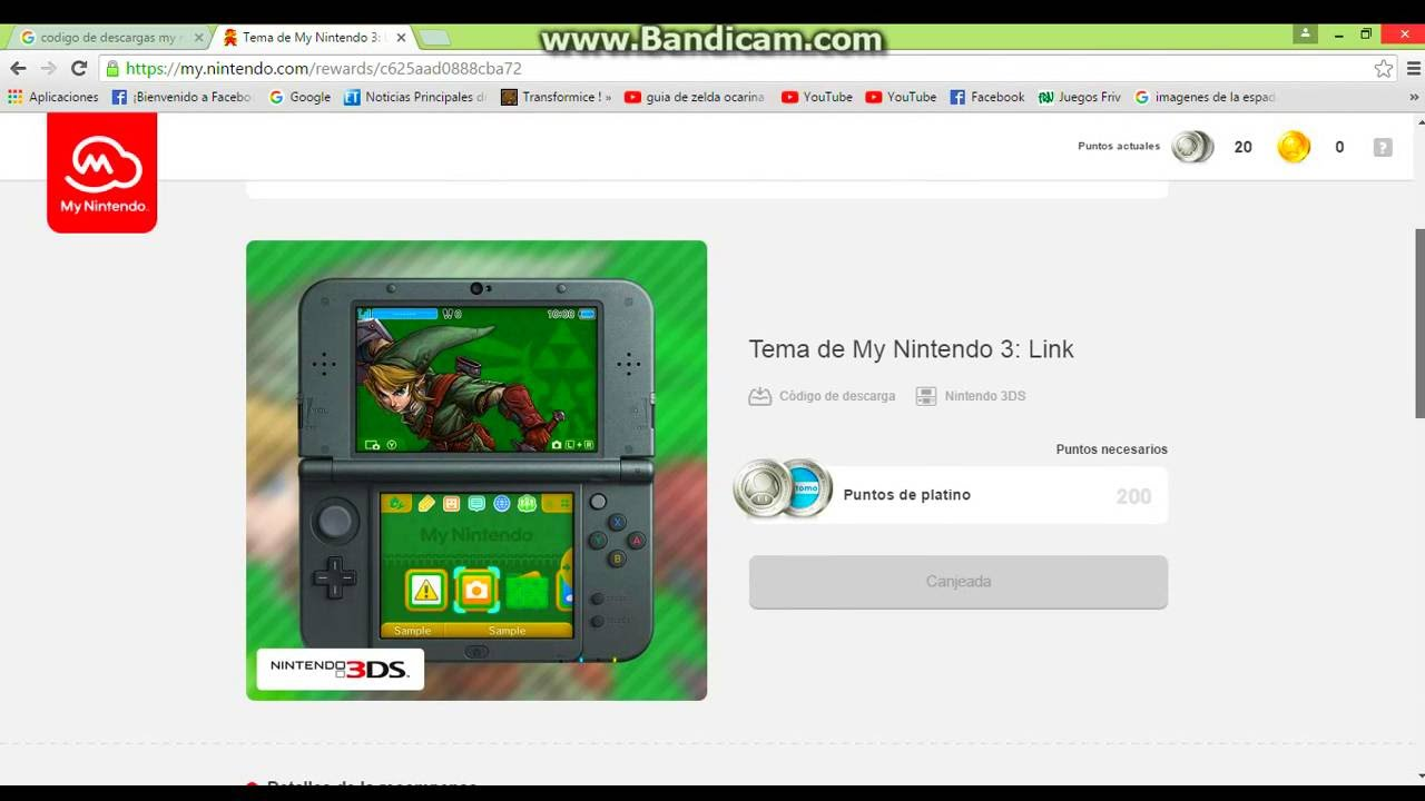 Codigo De Descarga De Tema De The Legend Of Zelda D Youtube