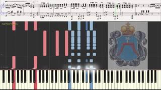 Полонез (Polonez) Огинского (вариация) (Ноты и Видеоурок для фортепиано) (piano cover)