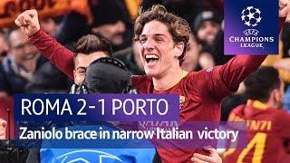 Roma vs Porto (2-1) | UEFA Champions League highlights