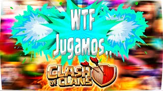 WTF!! Esto No Es Clash Royale no?? | Jugamos Clash of Clans! - El Juego Random#2 [WithZack]