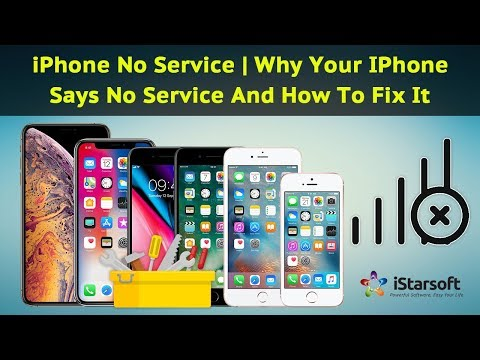 Your iPhone Says No Service (iPhone No Service) and How to