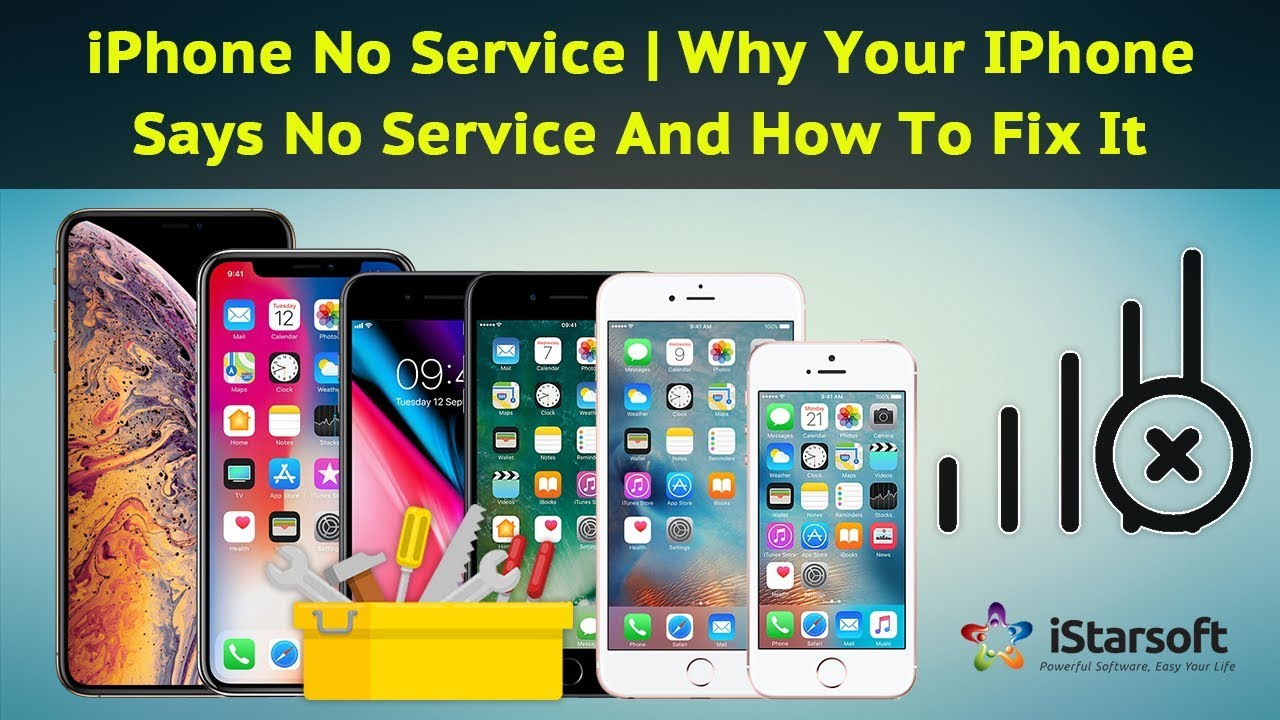 my verizon iphone 7 says no service