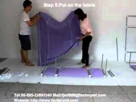 1608 Meifeng Non woven Fabric Wardrobe Install   YouTube