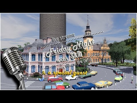 #39 Friday Night with Skib | Cities Skylines Live Stream with Imperatur as special guest!
