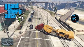 GRAND THEFT AUTO V | PREPARING FOR BIGGEST BANK HEIST THE UNION DEPOSITORY