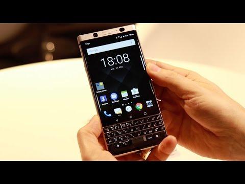 BlackBerry KeyOne Hands-on: Die Tastatur ist wieder da!