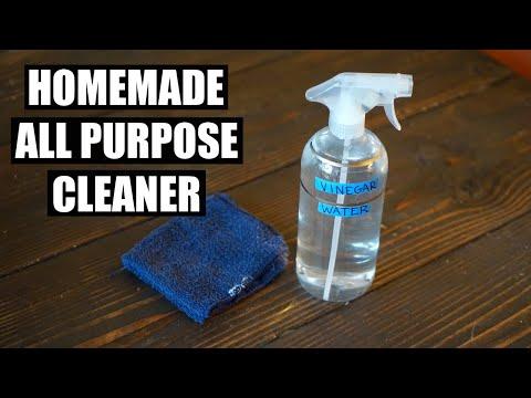 Homemade All Purpose Vinegar Based Cleaner