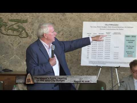 Mayor Barrett's 2017 Preliminary Budget Hearing
