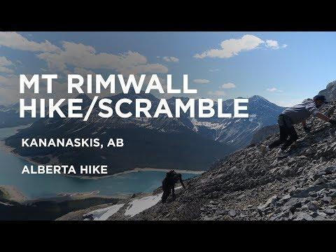 Mount Rimwall Hike/Scramble - 2018 | Alberta Hike | Vlog