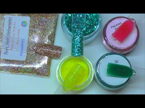 MINI GLITTER/SUPERFINE GLITTER/GLITTER DUST BY NAIO | ABSOLUTE NAILS