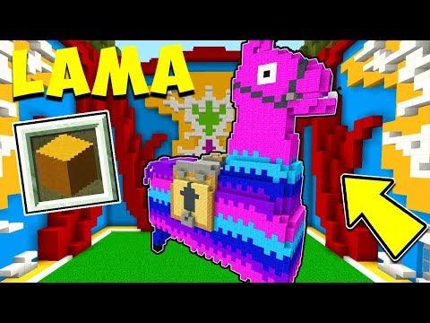 IL LAMA DI FORTNITE NELLE BUILD BATTLE!! - Minecraft ITA