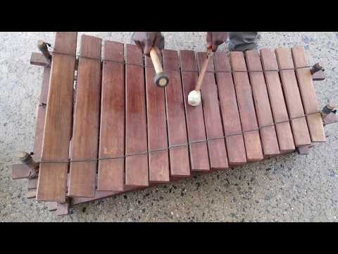 HELL's KITCHEN FLEA MARKET HAS AFRICAN WOODEN XYLOPHONE FOR SALE
