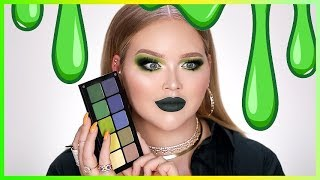 the green makeup challenge  nikkietutorials