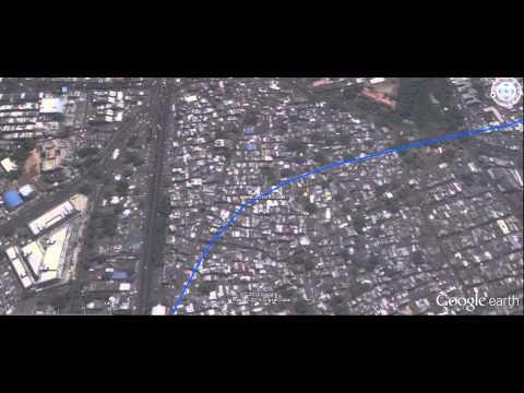 Ahmedabad Metro - East West Corridor Tour