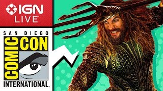 San Diego Comic Con 2018: Exclusive Access and Interviews - IGN Live (Day 3) thumbnail