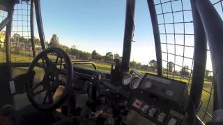 monster truck backflip attempt onboard