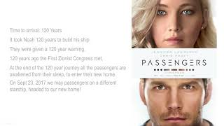 "The Revelation 12 Sign and the Movie ""Passengers"" WOW!"