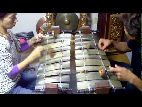 Balinese music gender wayang SEKAR TAMAN