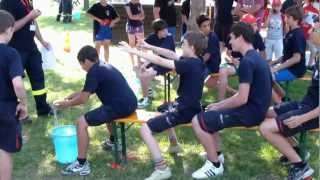 Giochi e prove di abilità - 12 campeggio provinciale Allievi Vigili del Fuoco Volontari