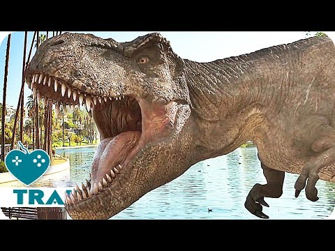 Jurassic World Alive Trailer (2018) iOS, Android Augmented Reality Game