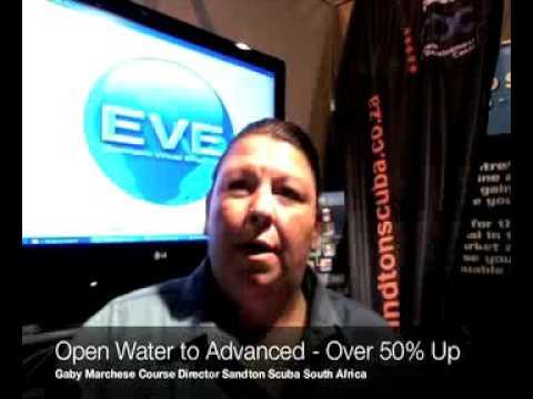 EVE Testimonials   sandton scuba con ed performance using EVE