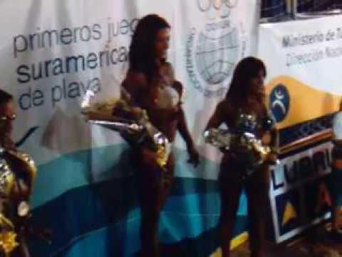 JUEGOS SUDAMERICANOS PLAYA-MONTEVIDEO-URUGUAY, MARTA AGUIAR 1º PUESTO EN FITNESS