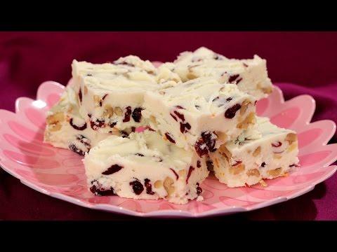 Download Youtube: Cranberry Walnut Fudge Recipe - Amy Lynn's Kitchen