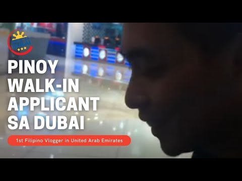 JOB HUNTING  SA DUBAI  (walk-in sa Duty Free at Malls)