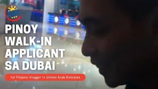 [Buhay sa Dubai TV Daily Vlog] JOB APPLICANTS (DUTY FREE AND MALLS)
