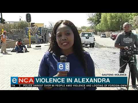 Looting crisis in Gauteng