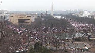 مسيرة النساء ضد ترامب تكتسح شوارع أمريكا