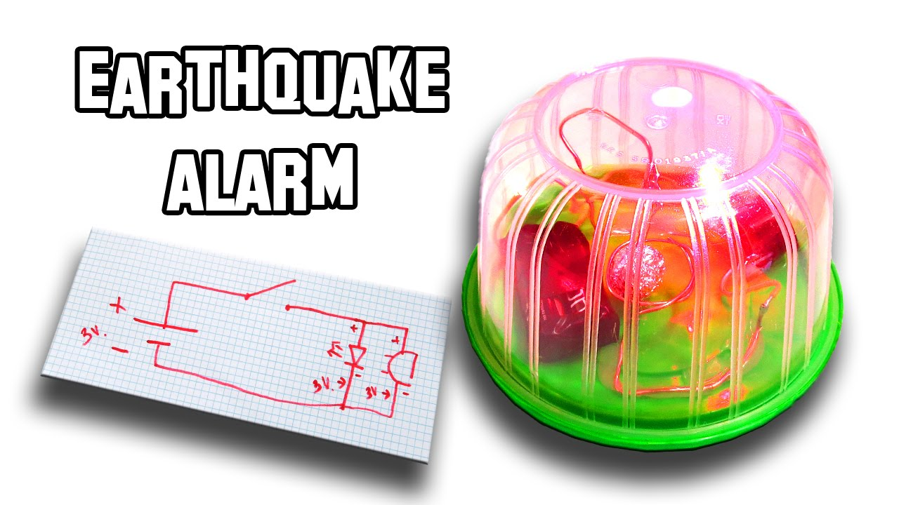 how to make an earthquake alarm youtube