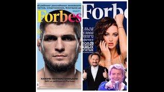 Список российских звезд Forbes возглавили Хабиб Нурмагомедов и Ольга Бузова