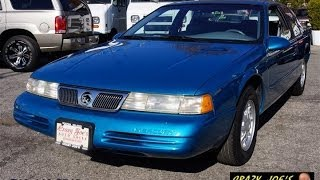 1994 Mercury Cougar 3.8 V6 Coupe For Sale 11,000 miles