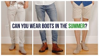 How to Wear Boots in the Summer   Men's Fashion   Clarks Desert, Doc Martens, Chelsea Boots