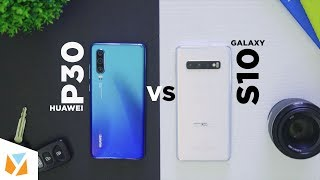 Huawei P30 vs Galaxy S10: Camera Comparison