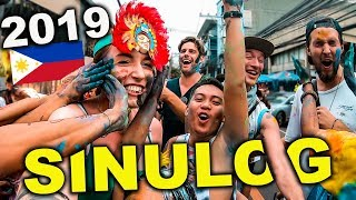 SINULOG 2019 Philippines, Foreigners First Time!