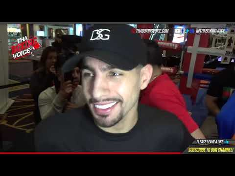 DANNY GARCIA: I want to get RIOS out in 6 OR LESS, talks THURMAN, SPENCE and MORE