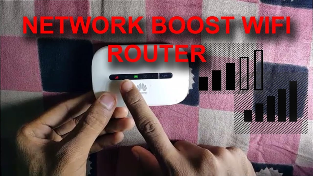 Huawei Mobile Wifi Router Network Boost & Disassemble