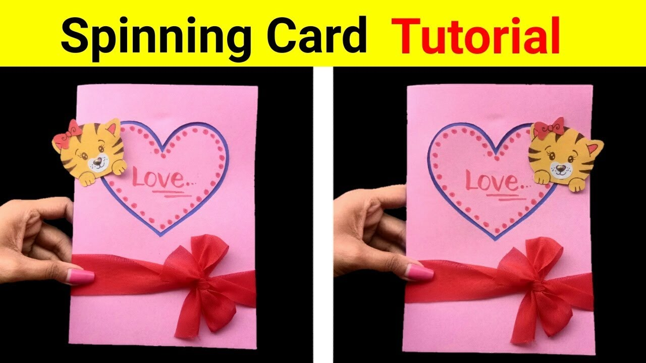 How To Make A Spinning Card