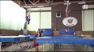Передача События - Первенство и Чемпионат Литвы по Прыжкам на Батуте (2014-04-04)