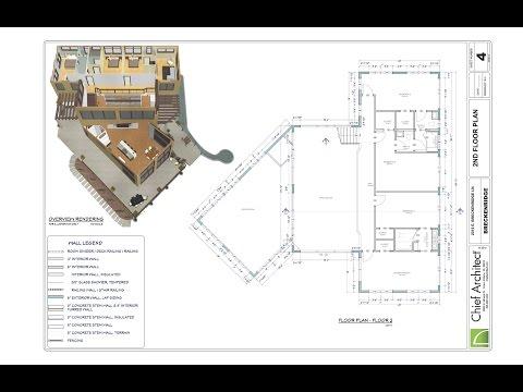 2 Floorplan - 2nd Floor  – Breckenridge Home Design
