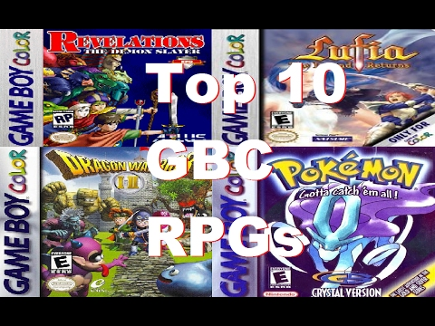 Top 10 Best Gameboy Color RPGs / Top 10 GBC RPGs