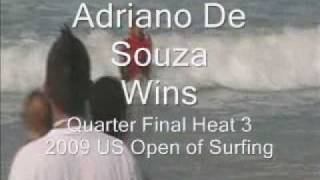 Adriano De Souza US Open 2009 Quarter Finals - Association of Surfing Professionals, WQS Event