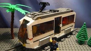 LEGO САМОДЕЛКА #16 | Трамвай / Tram(Как построить трамвай из лего? Если вы восхитительный строитель и проектируете свой лего-город, то вы..., 2015-07-04T12:43:37.000Z)